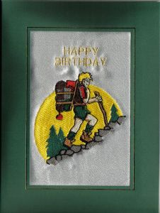 HAPPY BIRTHDAY - Hiking - Hill Walker